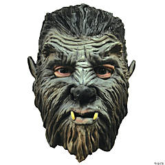 Werewolf Mini Monster Halloween Mask for Men