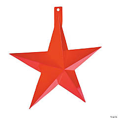 Western Barn Star Wall Decorations