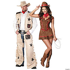 Western Couple Costumes