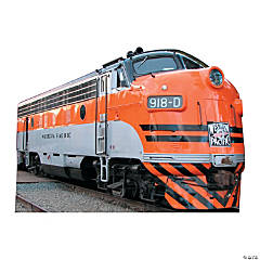 Western Pacific 918D Train Cardboard Stand-Up