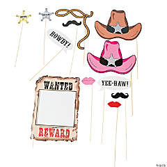 Western Photo Stick Props