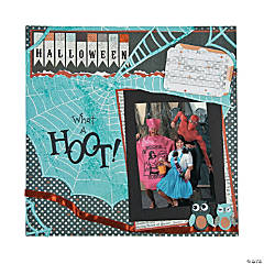 What A Hoot Scrapbook Page Idea