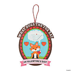 What Does The Fox Say Valentine Craft Kit