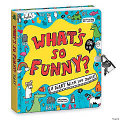 What's So Funny Diary (Jokes Reveal Diary)