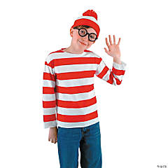 Where's Waldo Costume Kit For Boys