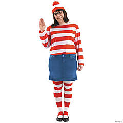 Where's Waldo Wenda Plus Size Kit Costume For Women