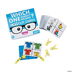 Which One Doesn't Belong? Clip Cards
