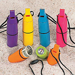 Whistle Beach Safe Containers with Compass