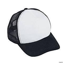 White & Black Trucker Hats