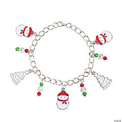 White Christmas Bracelet Craft Kit