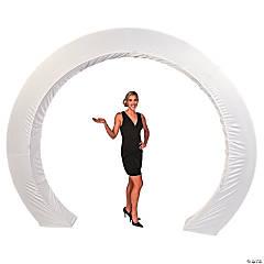 White Circle Arch Slip