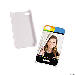 White Custom Photo iPhone® 4/4S Case
