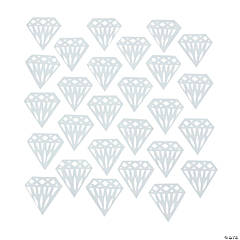 White Diamond Confetti