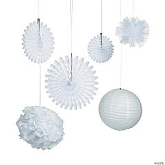 White Hanging Decorations Kit