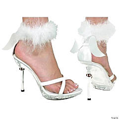 White High Heel Sexy Angel Shoes
