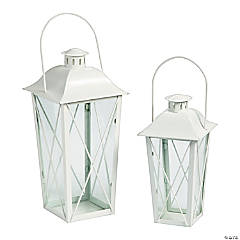 White Lantern Set