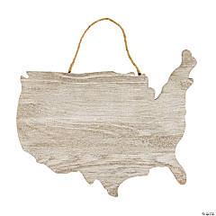 White Plank USA Sign