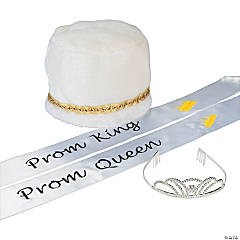 White Prom Royalty Kit