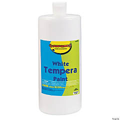 White Tempera Paints