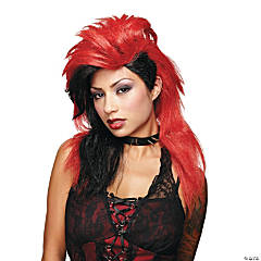 Wicked Desire Red & Black Wig
