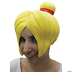 Wig Anime 4 Latex Yellow