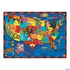Wild America® Classroom Rug