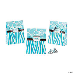 Wild Safari Blue Favor Bags