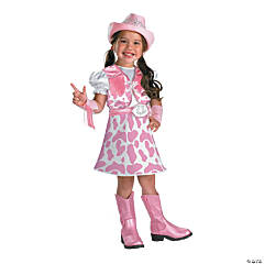 Wild West Cutie Girl's Costume