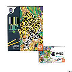 Wild Wonders: Book 1 with Set of 36 Colored Pencils