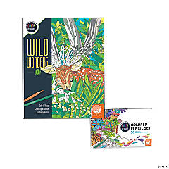 Wild Wonders: Book 2 with Set of 36 Colored Pencils