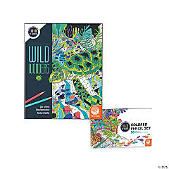 Wild Wonders: Book 3 with Set of 36 Colored Pencils