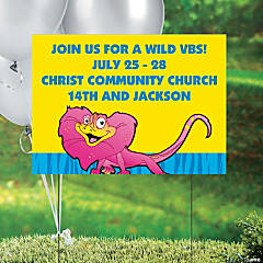 Wild Wonders Personalized VBS Yard Sign
