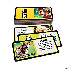 Wildlife Puzzle Card Game