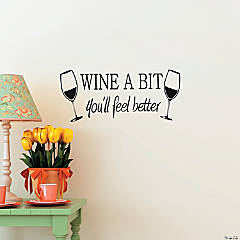 Wine a Bit Wall Decals
