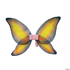 Wings Child Fairy Pink Yellow
