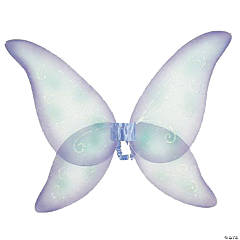 Wings Fairy Blue Green