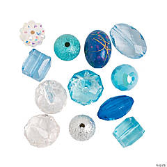 Winter Bead Assortment - 10mm - 20mm
