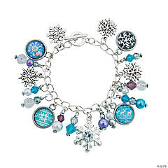 Winter Charm Bracelet Idea