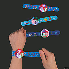Winter Flashing Slap Bracelets