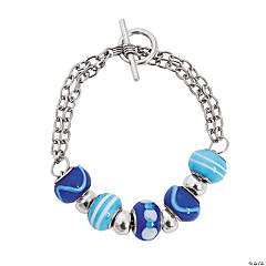 Winter Large Hole Bead Bracelet Craft Kit