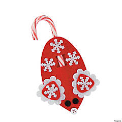Winter Mouse Candy Cane Craft Kit