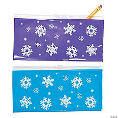 Winter Pencil Cases