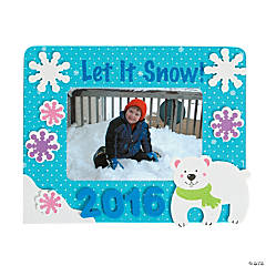 2015/2016 Winter Picture Frame Magnet Craft Kit