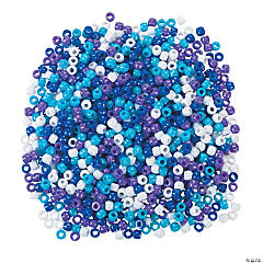 Winter Pony Bead Assortment - 6mm