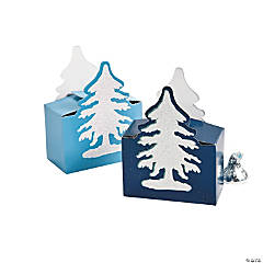 Winter Retreat Favor Boxes