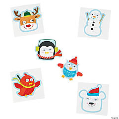 Winter Wiggle Eye Stickers