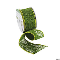 Wired Green Ribbon