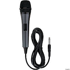 Wired Karaoke Microphone: Black