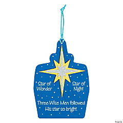 Wise Men Followed Christmas Ornament Craft Kit