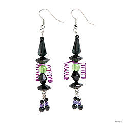 Witch Earrings Craft Kit